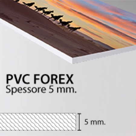 5mm Forex Classic White Foam PVC Sheet; Forex Classic is the No. 1 sheet in the Forex product family having the best mechanical properties and a top-grade surface quality with a high density and improved rigidity.